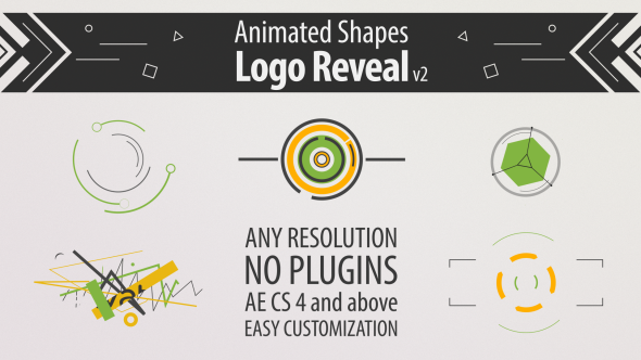 Shape Animation Logo Reveal V Videohive Free After Effects - Logo animation after effects template