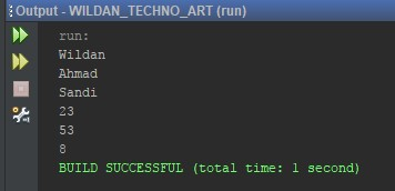 Contoh sederhana penggunaan ArrayList pada Java