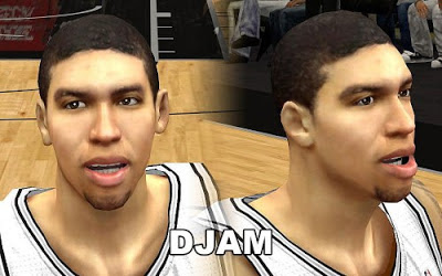 NBA 2K13 Danny Green Cyberface Patch