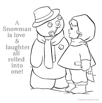 A snowman is love freebie