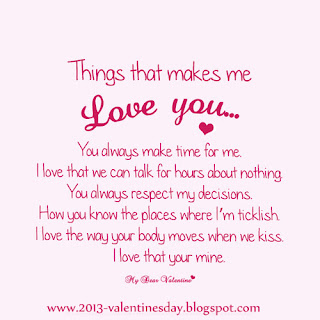 Quotes on Love - I love you Quotes for Valentines day