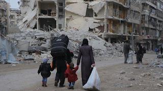 Akibat Ulah Kekejaman Syiah, Jumlah Pengungsi Suriah di Negara Tetangga Tembus 5 Juta