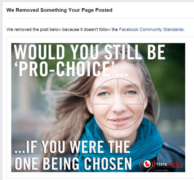 God or Absurdity Blog: Censored by Facebook Again - Anti Pro
