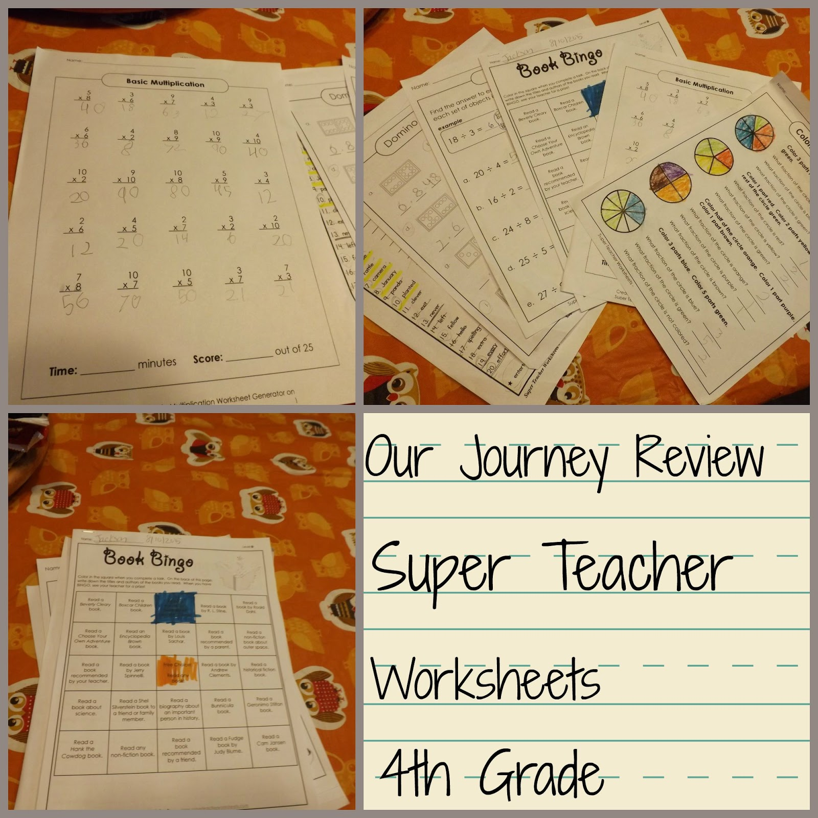 Super Teacher Worksheets Division Answer Key