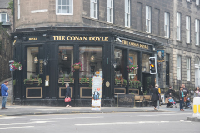 The Conan Doyle Pub in Edinburgh