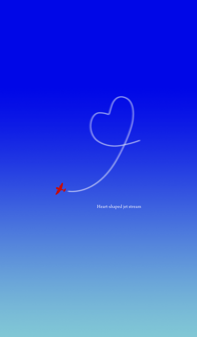 Heart-shaped jet stream