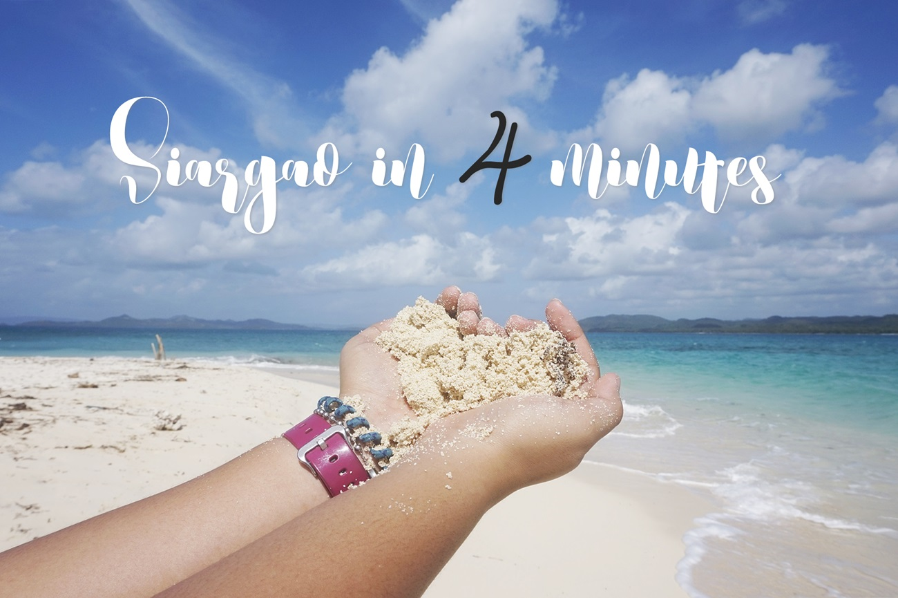 Siargao in 4 minutes