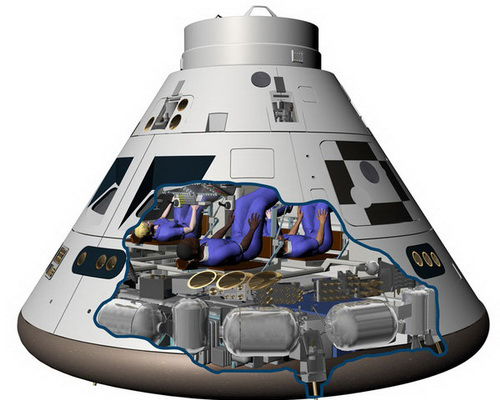 Tinuku NASA Orion passed abort system test