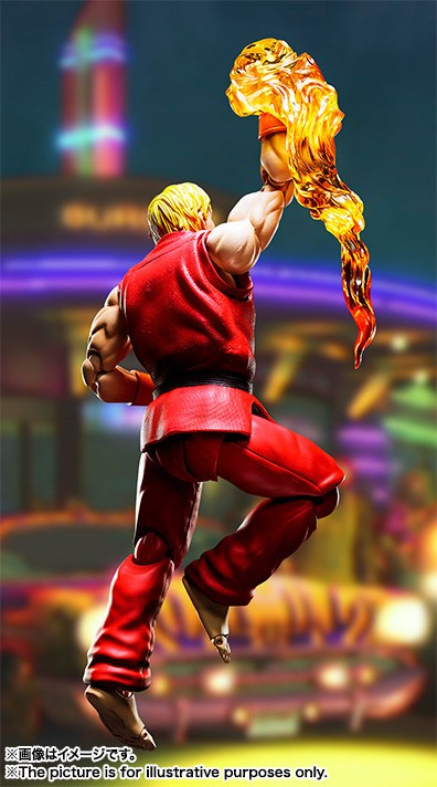 "S.H.Figuarts Ken Masters de ""Street Fighter"" - Tamashii Nations"