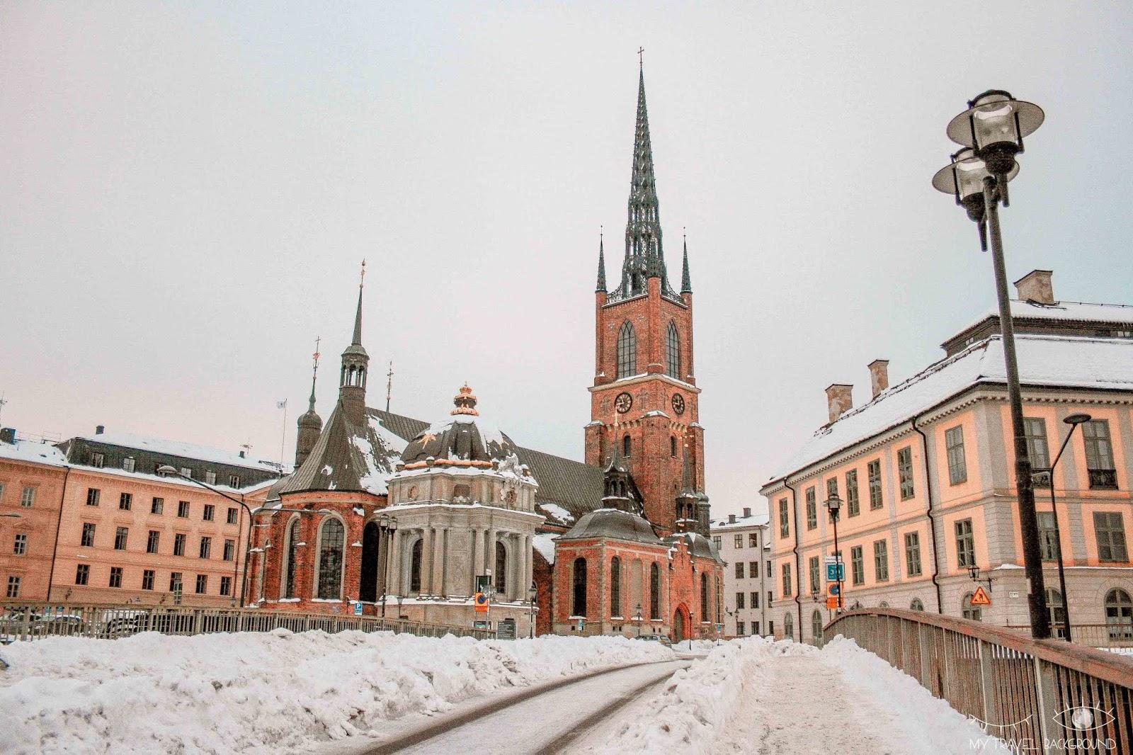 My Travel Background : Visiter Stockholm, mes immanquables - Eglise de Riddarholmen