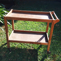 New DIY Project - Restoring an Old Wooden Tea Trolley