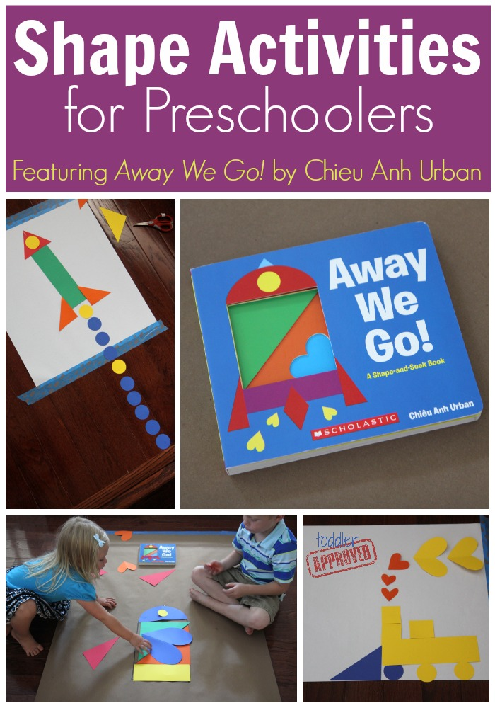 Happy Cast Activities For Preschoolers {Away Nosotros Go