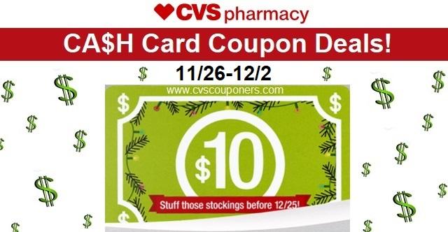 http://www.cvscouponers.com/2017/11/25-cvs-cash-card-coupon-deals-1126-122.html