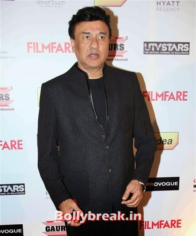 Anu Malik, Bollywood Actors at 59th Filmfare Pre Awards Party