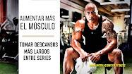 aumentar músculo en el gym