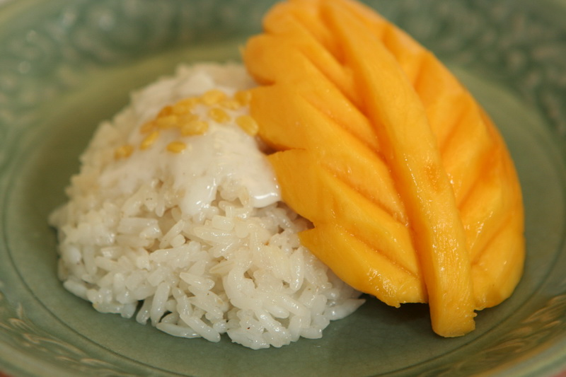 scrapbook.: Mango Sticky Rice. Khao Neaw Ma-Muang.