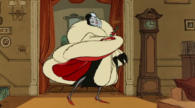 Cruella De Vil 101 Dalmations 1961 animatedfilmreviews.blogspot.com