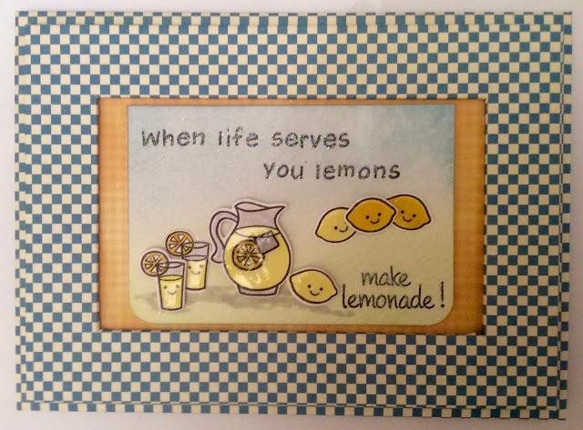 Lawn Fawn Make Lemonade