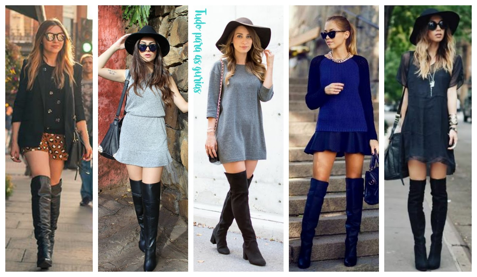 Especial: Botas Over the Knee.