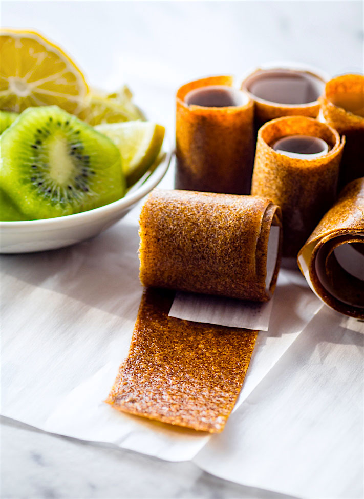 Homemade fruit rolls ups! plus 30 Real Food Gluten Free Recipes to Fuel Your Next Run or Workout! Natural energy to fuel you for a run or even sustain you after!
