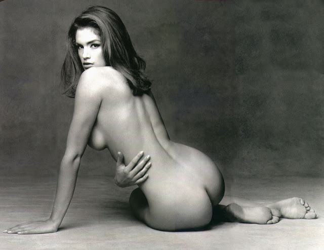 Cindy crawford naked something and
