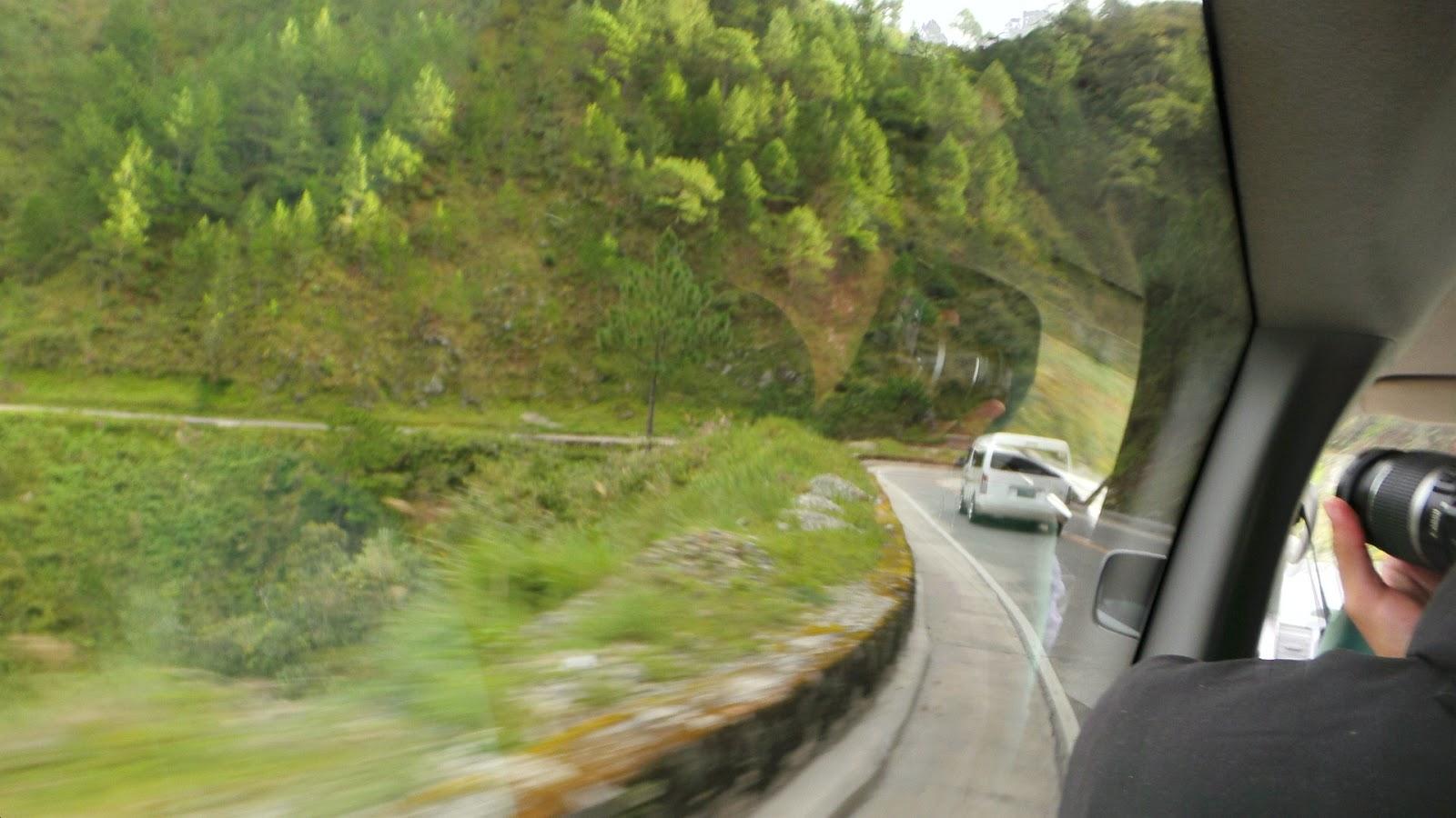 Zig Zag Road to Sagada