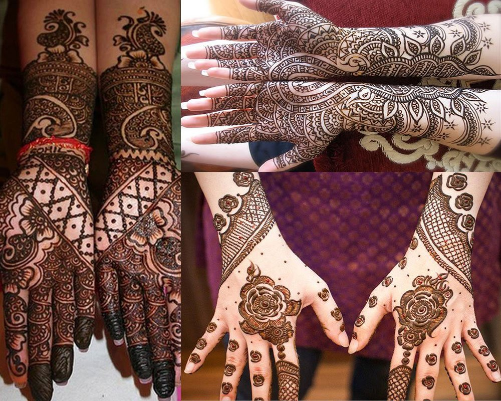 South Indian Mehndi Designs