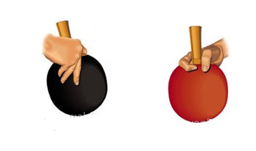 Cách cầm vợt bóng bàn dọc