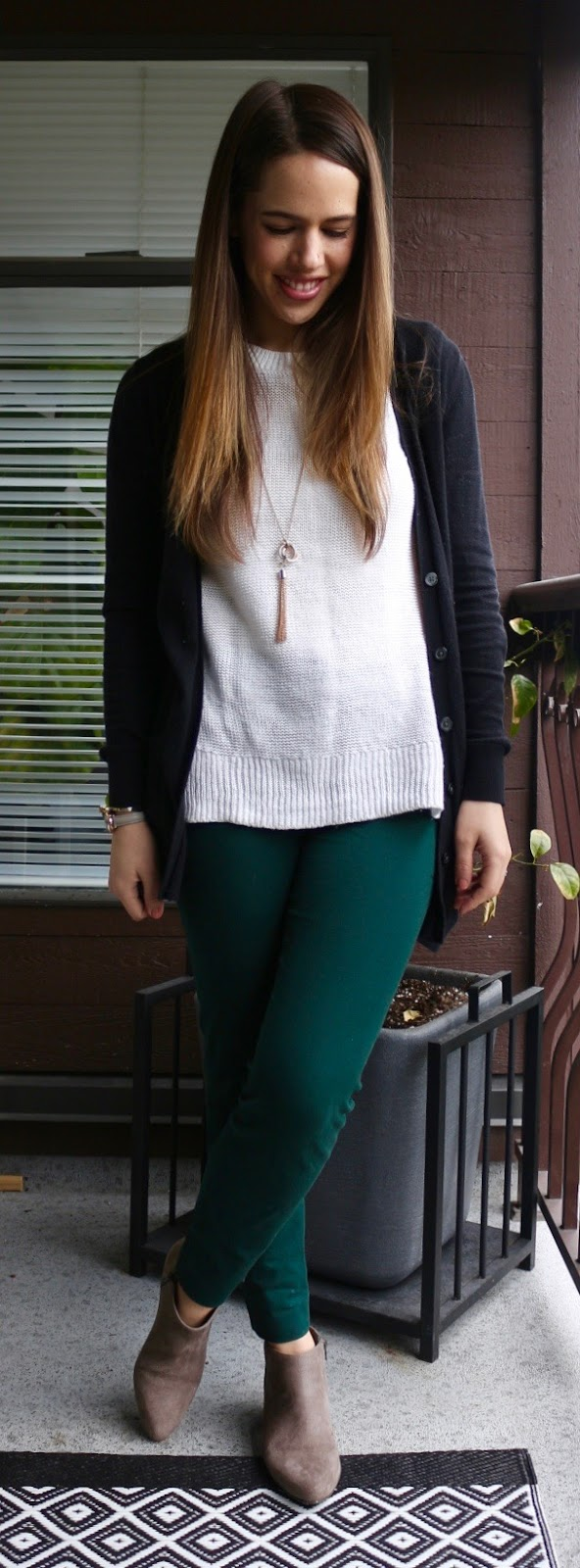 Jules in Flats - St. Patrick's Day Outfit