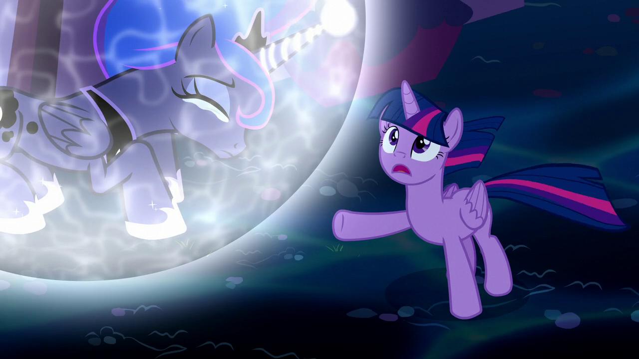 Luna Becoming Nightmare Moon