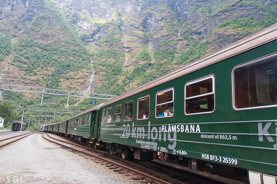 El tren de Flam y la excursion norway in a nutshell