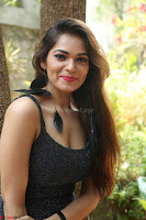 Aswini in lovely Deep Neck Sleeveless Black Dress Spicy Pics ~  Exclusive 09.JPG