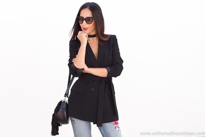 Blogger de moda belleza influencer de Valencia con looks bonitos