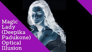 Deepika Padukone Optical Illusion