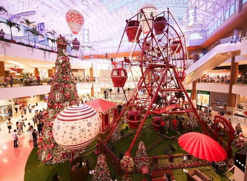 Natal do Salvador Shopping oferece lazer para a toda a família
