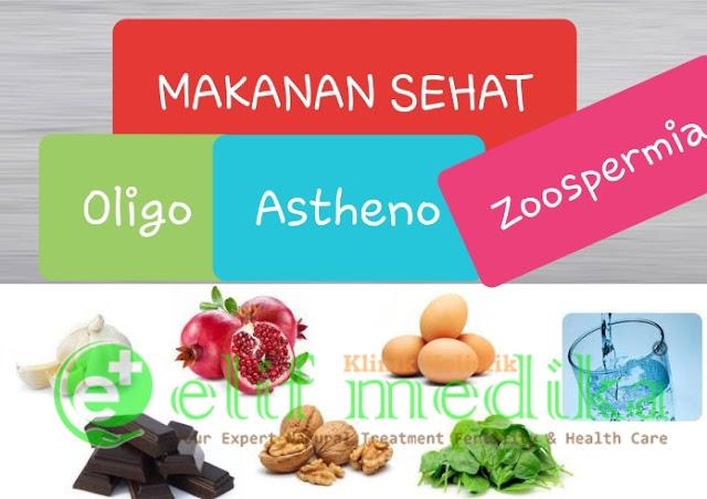 Makanan Sehat OligoAsthenozoospermia