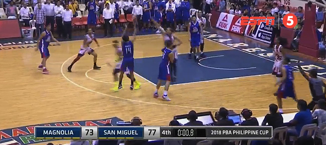 San Miguel def. Magnolia, 77-76 (REPLAY VIDEO) February 4