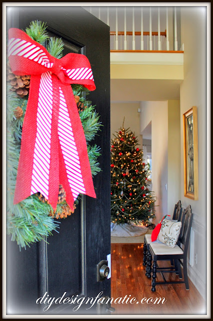Christmas, Christmas tree, cottage,cottage style, farmhouse, farmhouse style, diyDesignFanatic.com