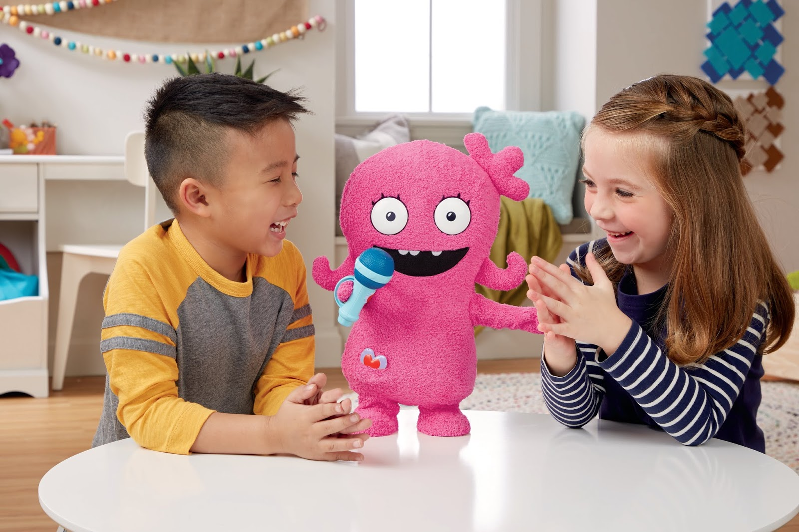 """7383ec1a0 Dance Moves Moxy has over 50 phrases and even includes snippets of the  UglyDolls film's signature song """"Couldn't Be Better."""""""