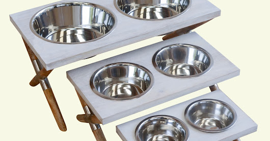Dog Feeder Marble Top Newly Launched @ DEZARO