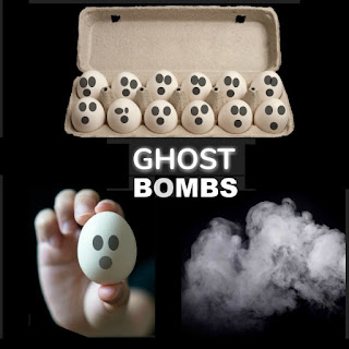 GHOST BOMBS- a super fun Halloween activity for kids!