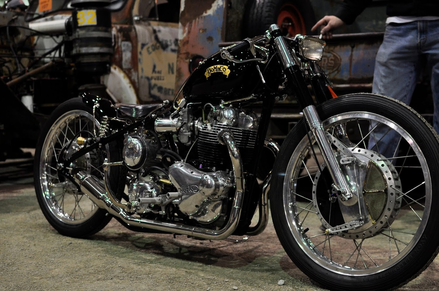 "Norton Based Bobber ""DoMaCo"" Pictures"