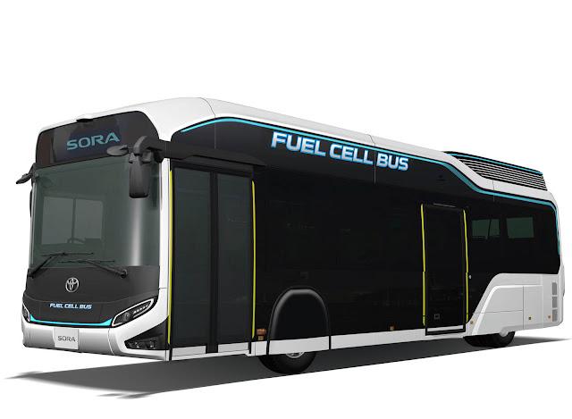 2017 Toyota Sora Fuel-Cell City Bus Concept - #Tokyo #FuelCell #Bus #Concept