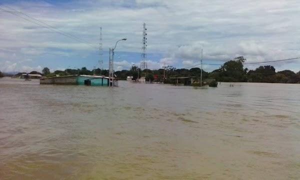 Fuertes inundaciones en Venezuela