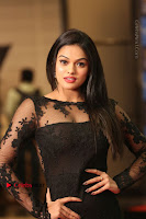 Actress Soniya Stills in Beautiful Black Long Dress at SIIMA Short Film Awards 2017 .COM 0085.JPG