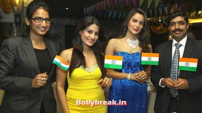 Deepali, Arjumman Mughal and Shamika, BGrade Movie Actresses Celebrate Republic Day at Peninsula Grand