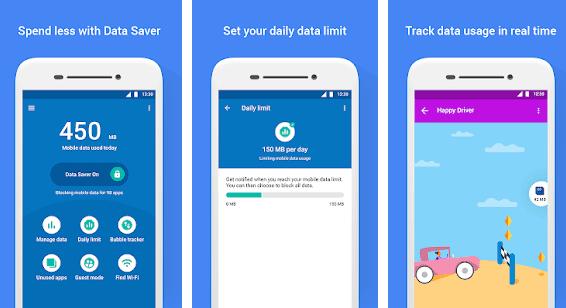 Datally - Δες ποιες εφαρμογές καταναλώνουν περισσότερα δεδομένα στο κινητό σου