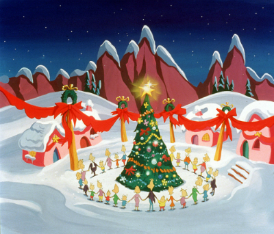 Schedule of 2016's Christmas animation TV specials.
