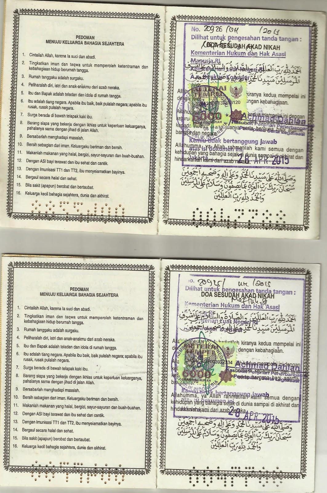 Jangkar Groups Legalisir Buku Nikah Di Kedutaan Uae