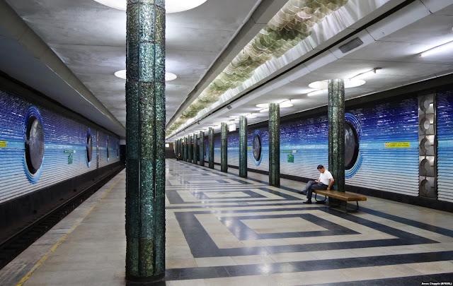 tashkent metro uzbekistan, uzbekistan small group tours, uzbekistan art craft textile tours